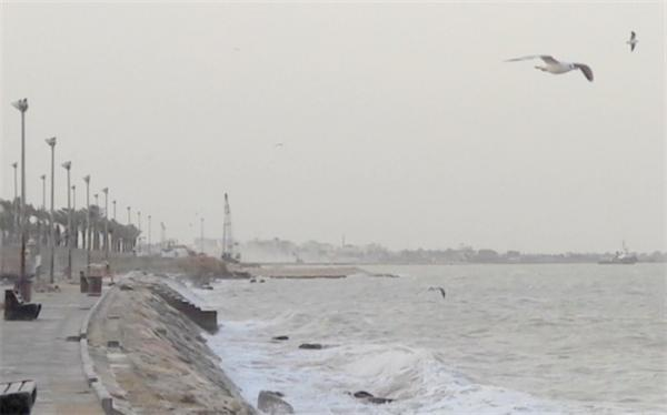 هشدار هواشناسی نسبت به افزایش ارتفاع موج تا 1.5 متر در دریای خزر